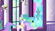 Celestia 'Spike brought Cadance the crystal heart' S3E2