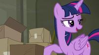 "Twilight ""pretty sure I know somepony"" S6E9"