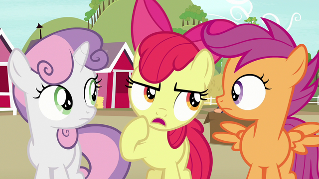 "File:Apple Bloom ""you've been goin' there a lot lately"" S7E8.png"