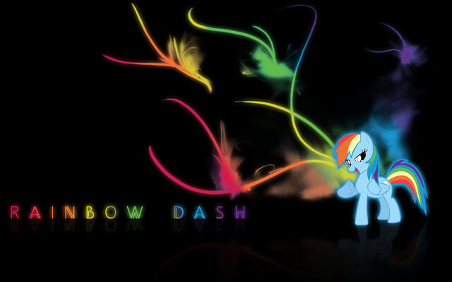 File:FANMADE Rainbow Dash wallpaper.jpg