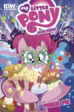 Micro Series Issue 5 Cover B