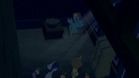 Rainbow Dash admitting her prank S6E15