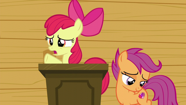 "File:Apple Bloom ""is that all we're gonna do now?"" S6E4.png"