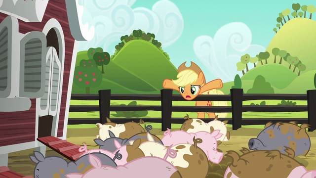 "File:Applejack ""puttin' a little fright into 'em"" S6E10.png"