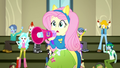 """Fluttershy and CHS students cheer """"Yay!"""" SS4.png"""