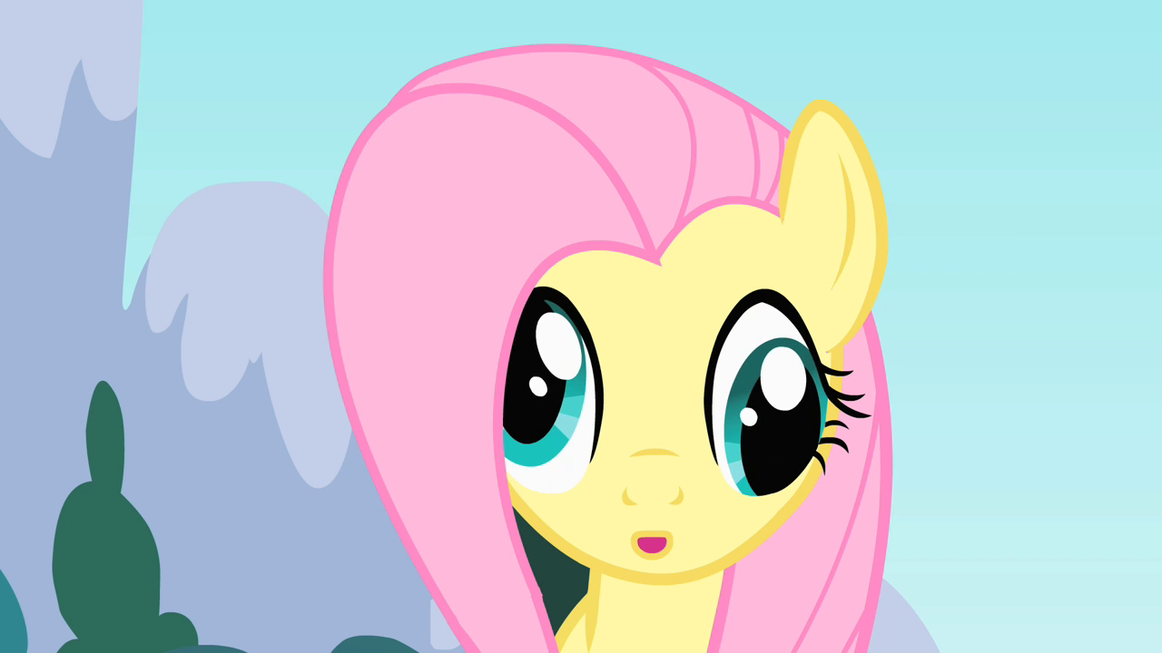 My little pony friendship is magic coloring pages derpy - Fluttershy Derpy Eyes S01e16