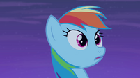 Rainbow Dash surprised S4E07