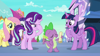 "Twilight ""Spike, you're a genius!"" S6E1"
