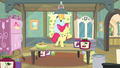 Apple Bloom standing on kitchen table S4E17.png