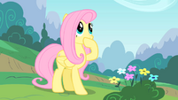 Fluttershy covers her mouth S01E16