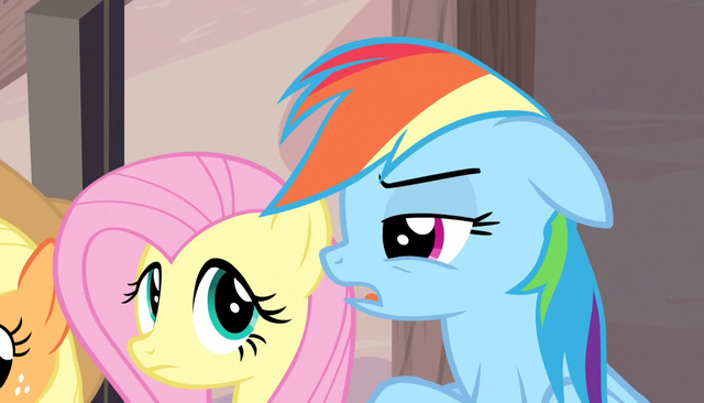 "File:Rainbow Dash ""you think?"" S5E1.png"