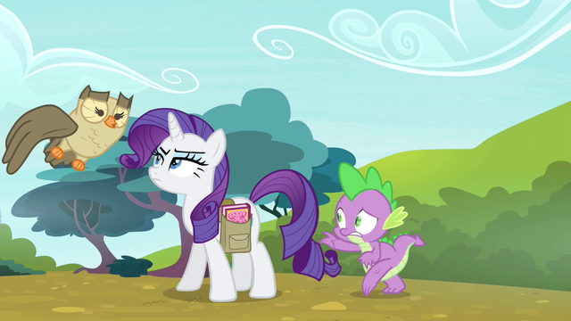 File:Spike sneaks up on Rarity again S4E23.png