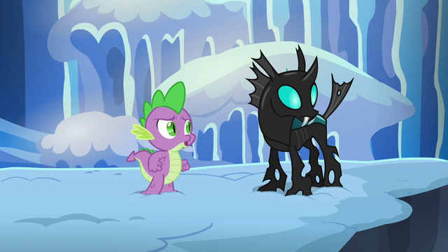 """File:Spike """"you don't have to ask"""" S6E16.png"""