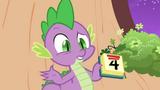 Spike holding a calendar S2E20.png