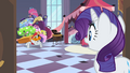 Bellhop asking Rarity where he should put her luggage S2E9.png