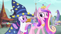 Cadance 'Absolutely nothing' S4E11