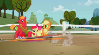 Fillies running away S2E12