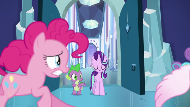 File:Pinkie Pie chases after Flurry Heart S6E2.png