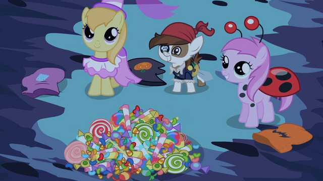 File:Ponies offering candies for Princess Luna S02E04.png
