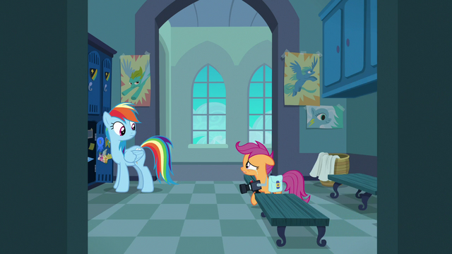 File:Scootaloo tearfully asks Rainbow Dash why S7E7.png