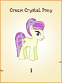 Cream Crystal Pony MLP Gameloft.png