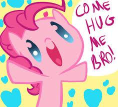 File:FANMADE Pinkie Pie 'Come Hug Me Bro'.jpg