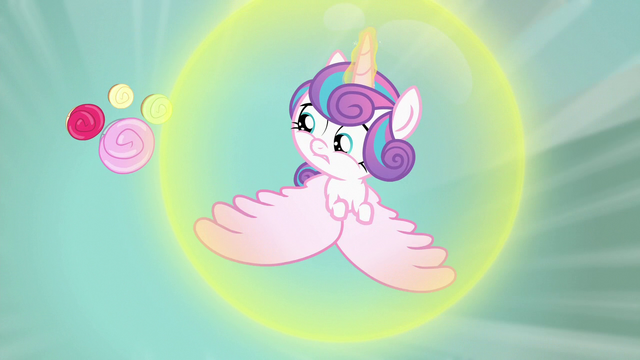 File:Flurry Heart flying away from cupcakes S7E3.png