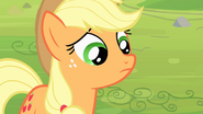 Applejack frowning S4E7