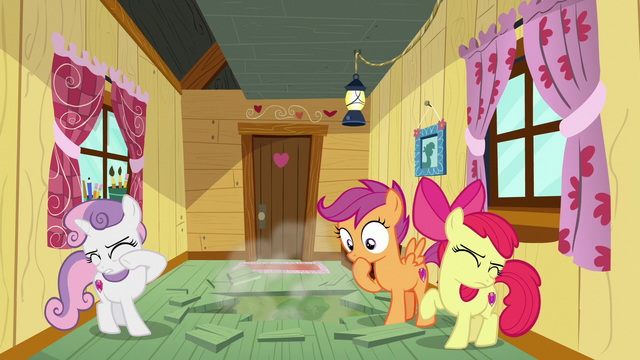 File:Crusaders in the clubhouse as Bulk Biceps falls down S6E4.png