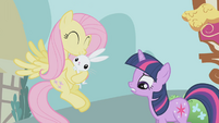 Fluttershy and angel S1E03