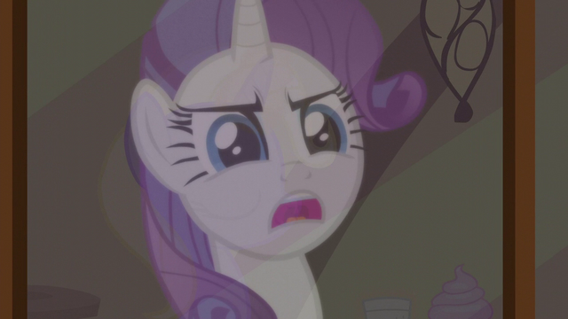 """File:Rarity reflection """"has to live with that guilt"""" S5E19.png"""