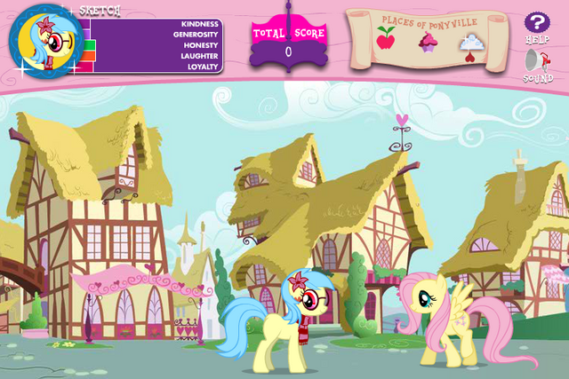 File:AiP Fluttershy in Ponyville.png