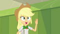 Applejack waving to her friends SS6.png