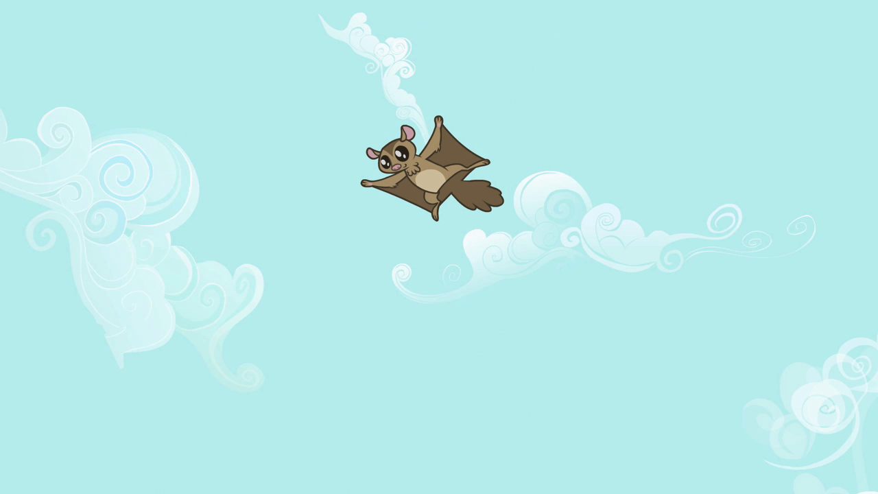Flying squirrel gif