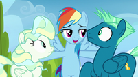 "Rainbow Dash ""you can either stay mad"" S6E24"
