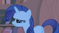Rarity squinting madly S1E8