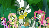 Zecora and ponies shocked S5E26