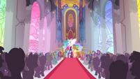 Celestia's victory ceremony S2E2