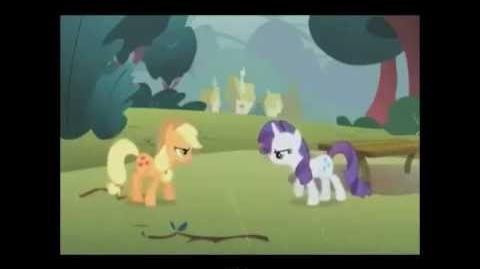 FANMADE Epic Pony Battle of History- Rarity vs