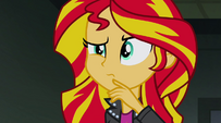 Sunset curious of the Dazzlings' behavior EG2