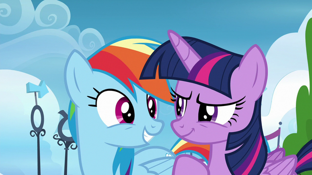 File:Twilight and Rainbow looking confident S6E24.png