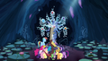 Discord transports Mane 6 and Spike to the Tree of Harmony S4E25.png