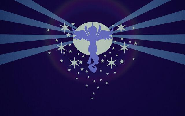 File:FANMADE Luna raising the moon (Copy of Celestia raising the sun in Cutie Mark Chronicles).jpg