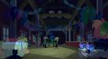 Hiding at Applejack's surprise party S2E14