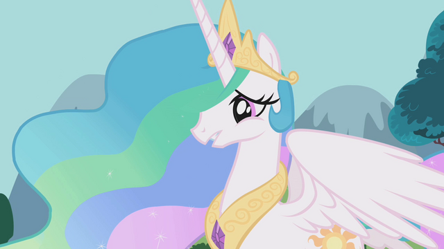 "File:Princess Celestia ""have to wait for another time"" S1E10.png"