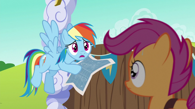 """File:Rainbow Dash """"to make the fastest cart ever!"""" S6E14.png"""