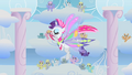 Rarity dances during Rainbow Dash's second phase S1E16.png