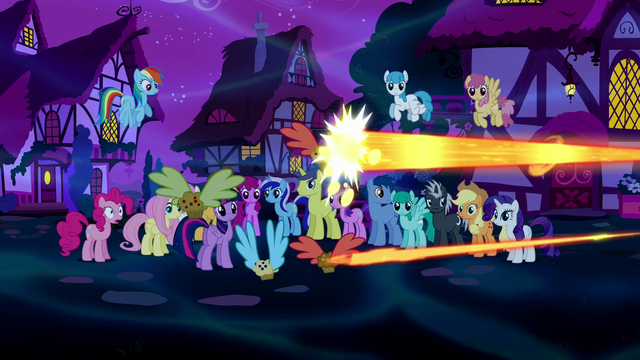 File:Flying muffins being zapped with magic S5E13.png