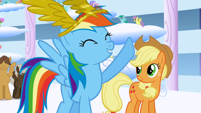 "File:Rainbow Dash says ""Best day ever!"" again S1E16.png"
