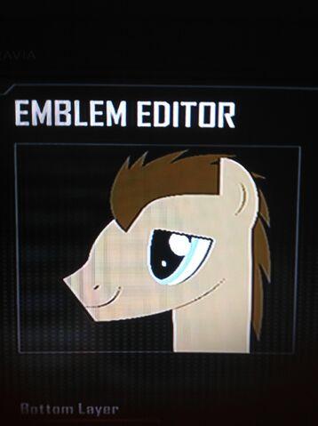 File:FANMADE Dr. Hooves Black Ops 2 Emblem.jpg